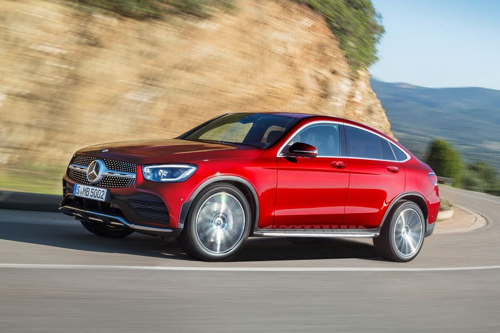 Mercedes-Benz GLC Coupe SUV gets new engines