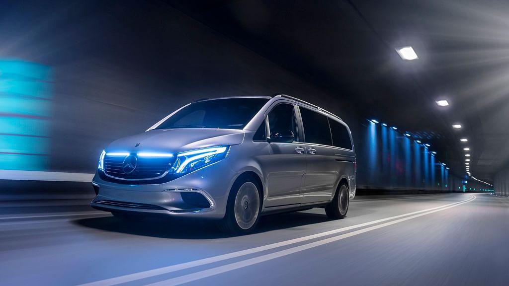 Geneva Motor Show 2019- Mercedes-Benz introduces the EQV concept