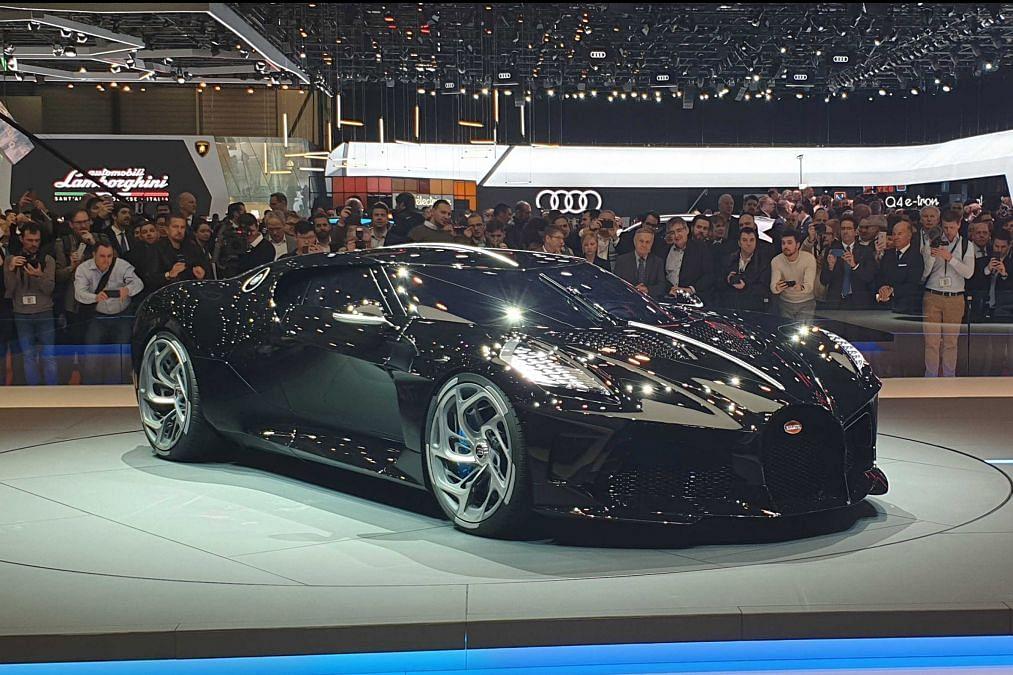 Bugatti 'La Voiture Noire' revealed – one-off Chiron references classic 57SC Atlantic