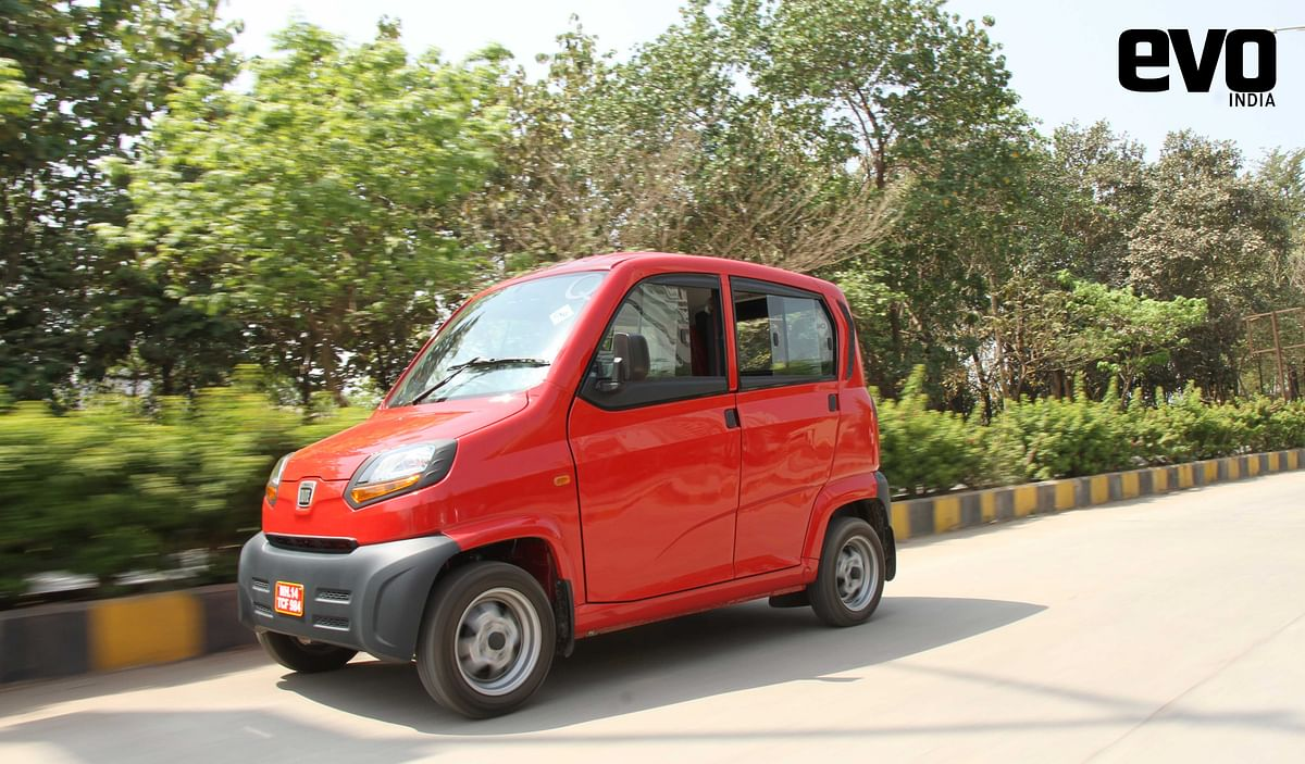 Test Drive Review: Bajaj Qute, India's first quadricycle