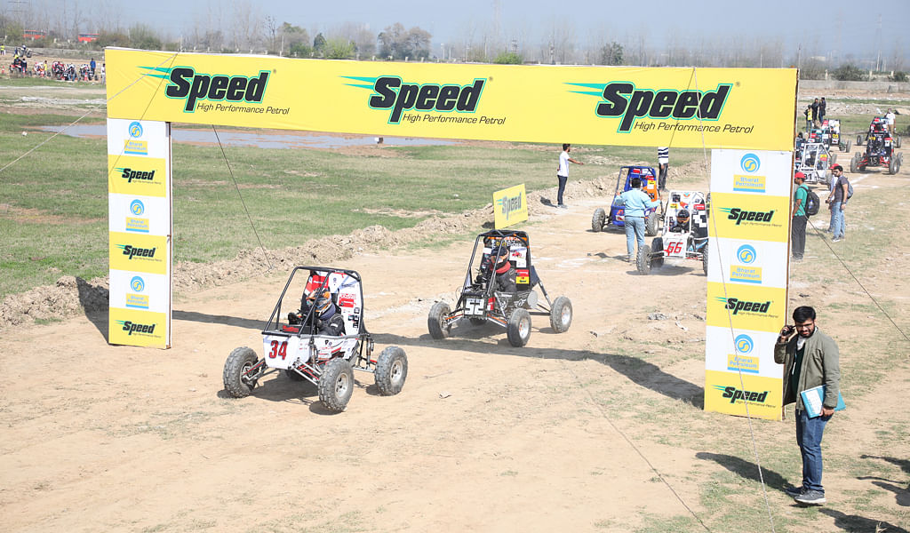 Second leg of the Mahindra Baja SAEIndia concludes at IIT Ropar