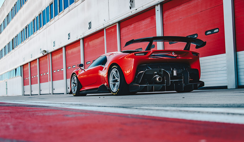 Ferrari P80/C, the 488 GT3 based one-off supercar revealed