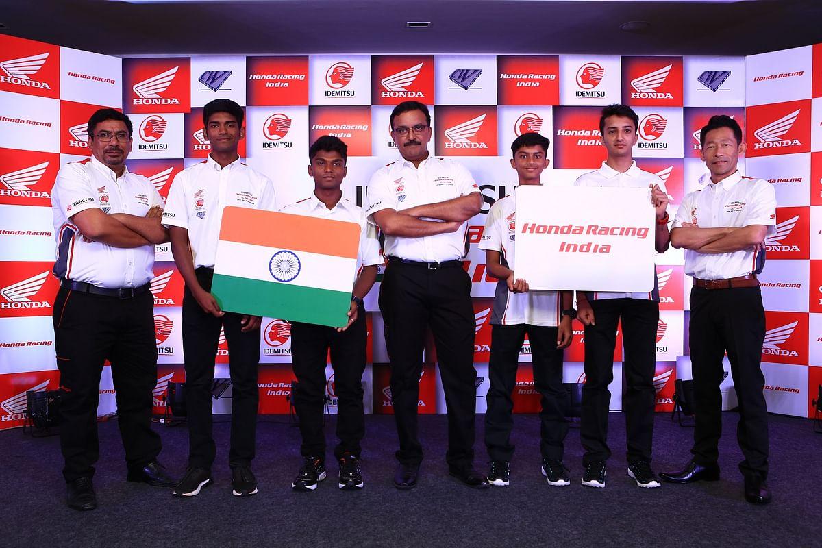 Idemitsu Honda Racing India announces its team for 2019 season