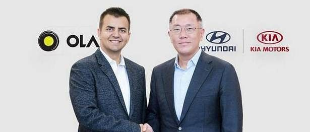 Hyundai, Kia to invest USD 300 million in Ola Cabs to develop mobility solutions