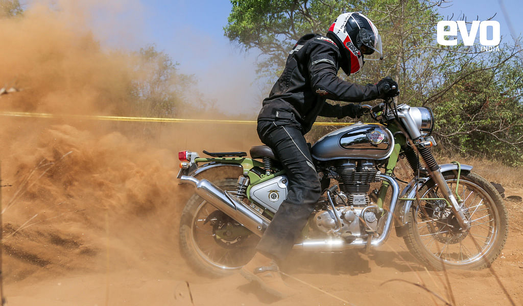Royal Enfield Bullet Trials Works Replica test ride review