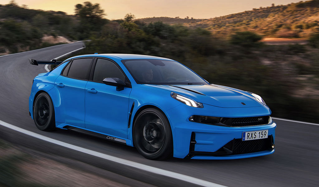 Cyan Racing develops a 520bhp Lynk & Co 03 concept road car