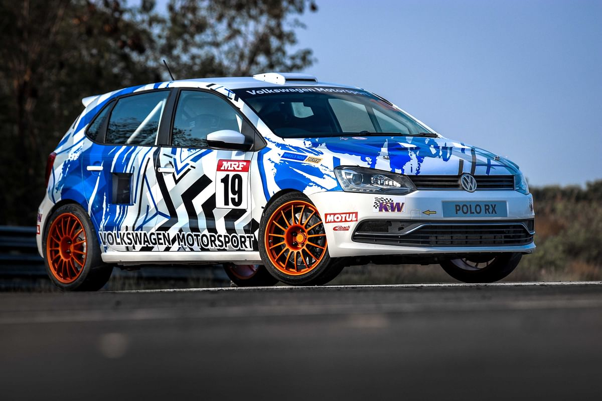 Volkswagen Motorsport India celebrates its 10th year with the 'Winter Project Car'