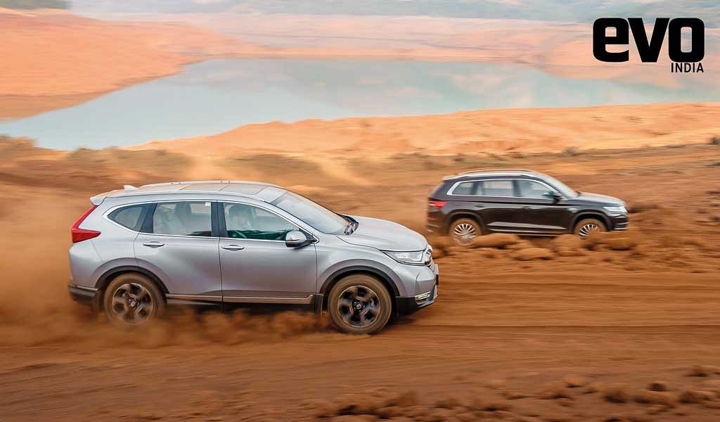 Honda CR-V vs Skoda Kodiaq – which 7-seater SUV takes the crown?