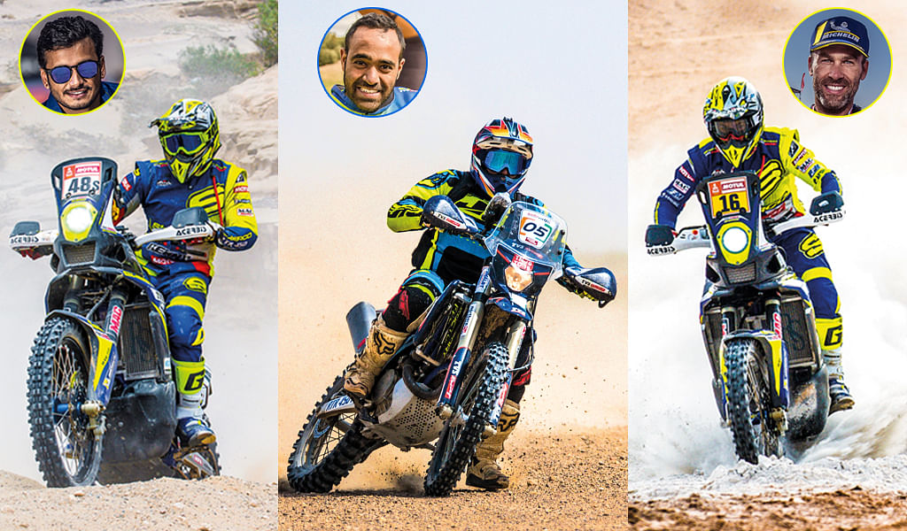 Sherco TVS gears up for Merzouga rally with three rider squad