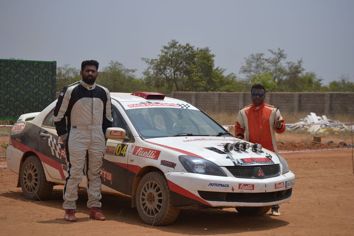 Younus Illyas & Co-Driver Harish Gowda winner of Sprint De Bengaluru,