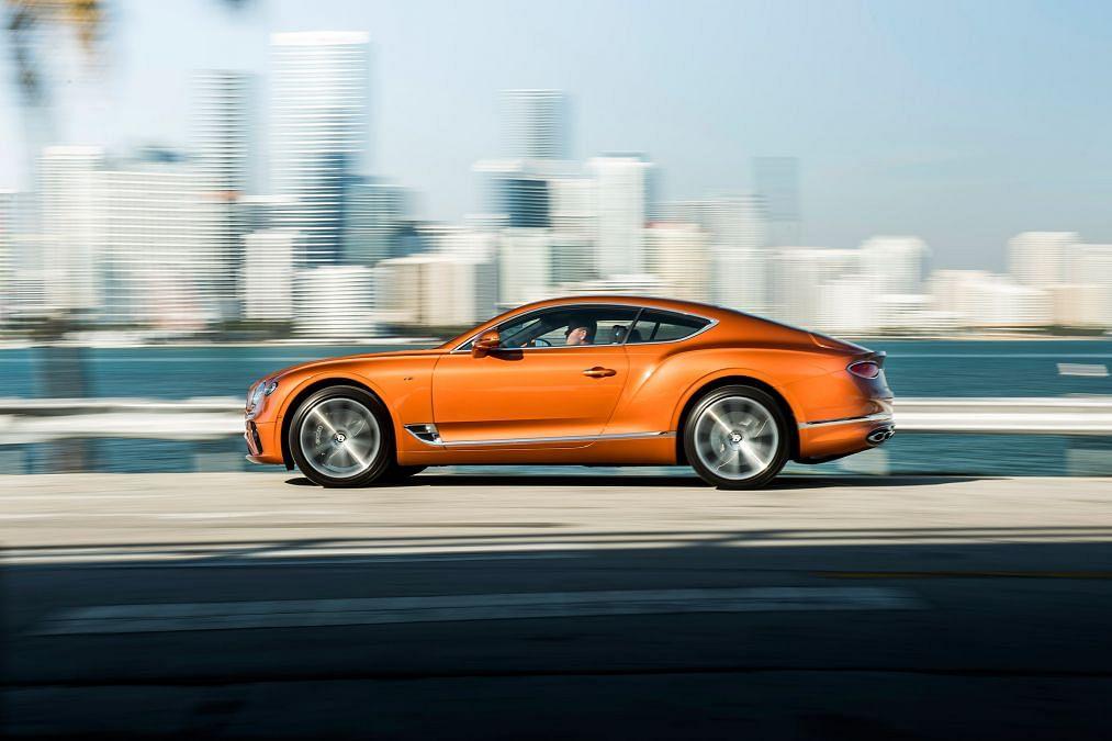 Bentley Continental GT V8 revealed