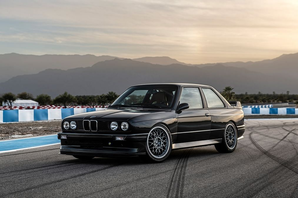 E30 BMW M3 enhanced by restorer Redux