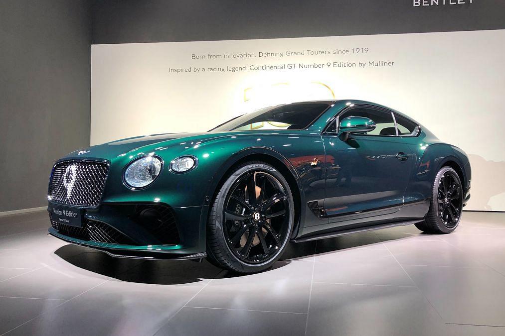 Bentley unveils Continental GT No.9 Edition at Geneva