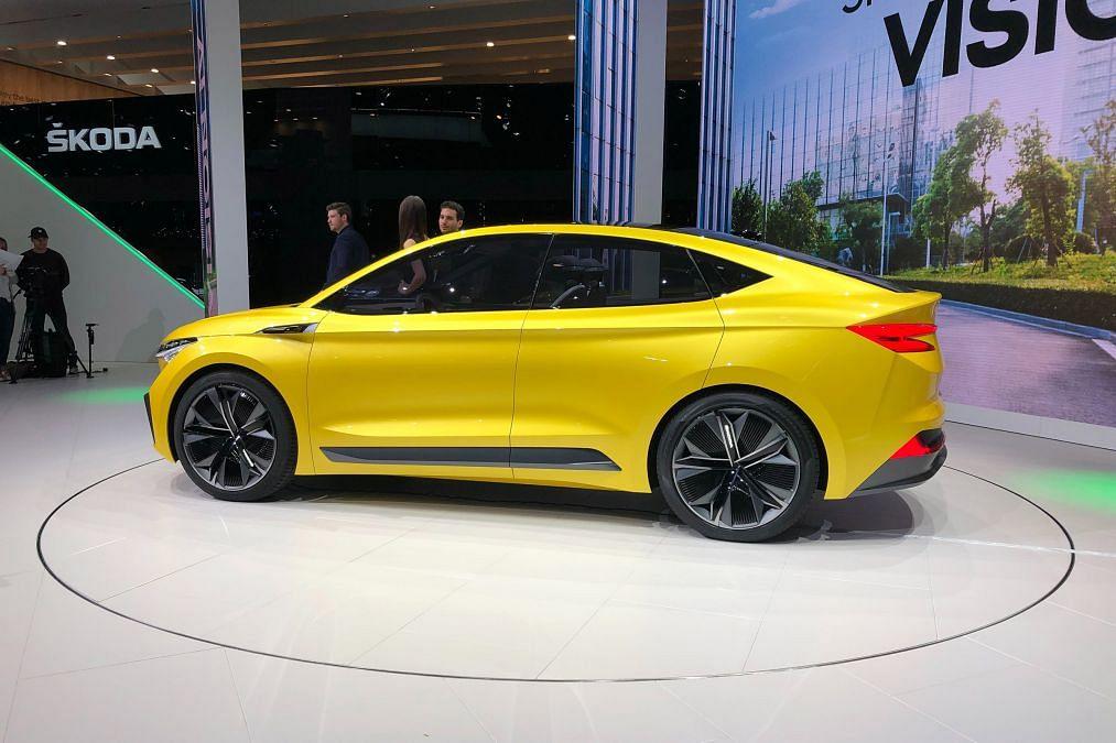 Skoda reveals Vision iV concept at Geneva Motor Show