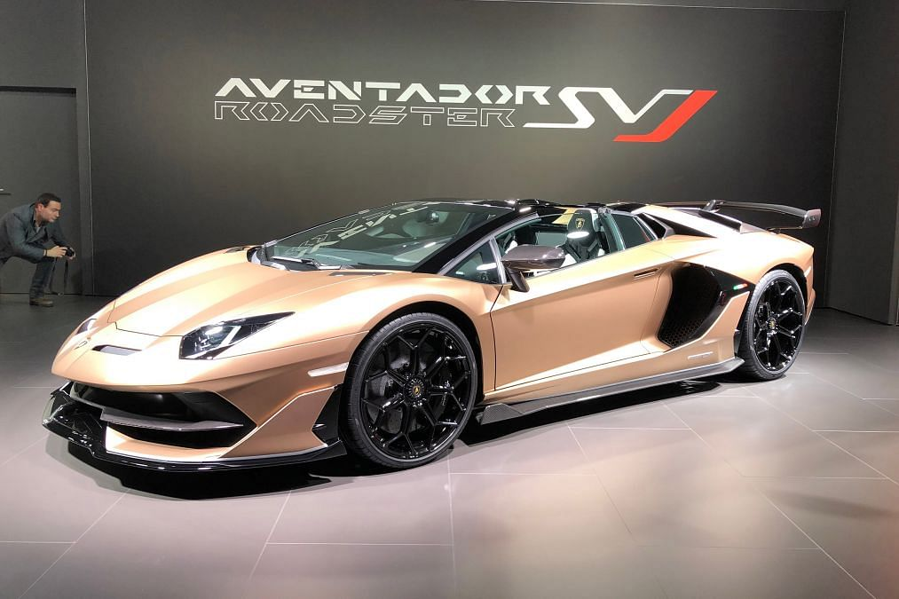 New Lamborghini Aventador SVJ Roadster debuts in Geneva
