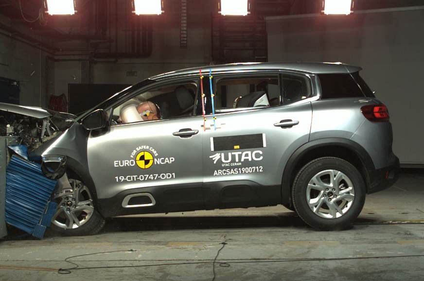 India-bound Citroen C5 Aircross scores 4-star in Euro NCAP safety rating