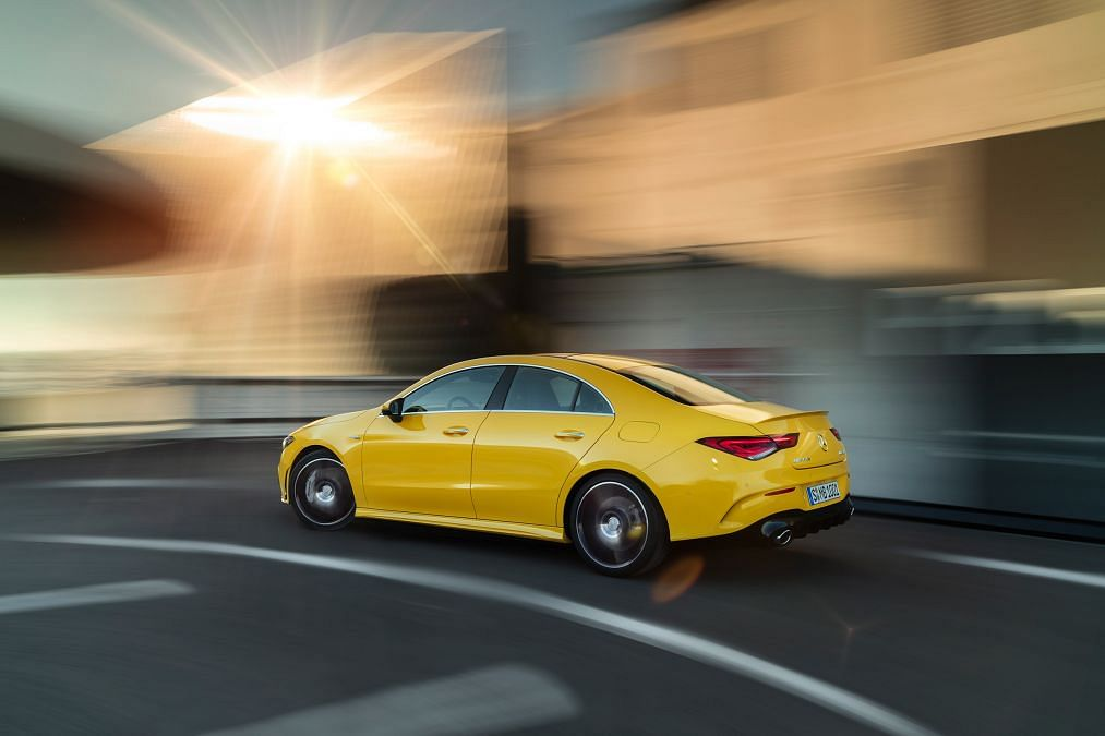 Mercedes-AMG CLA35 revealed – a new entry-level AMG four-door 'coupe'