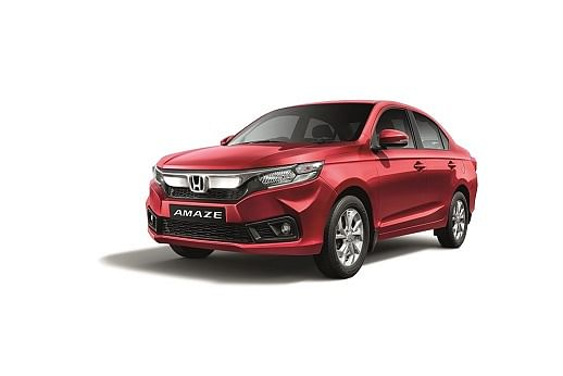 Honda launches CVT variant in VX trim for the Amaze