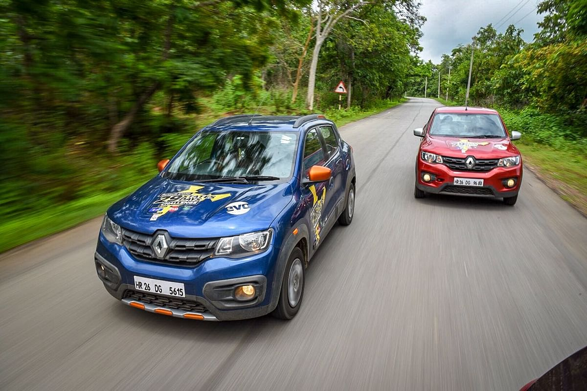The Start: India Diamond Trail with Renault