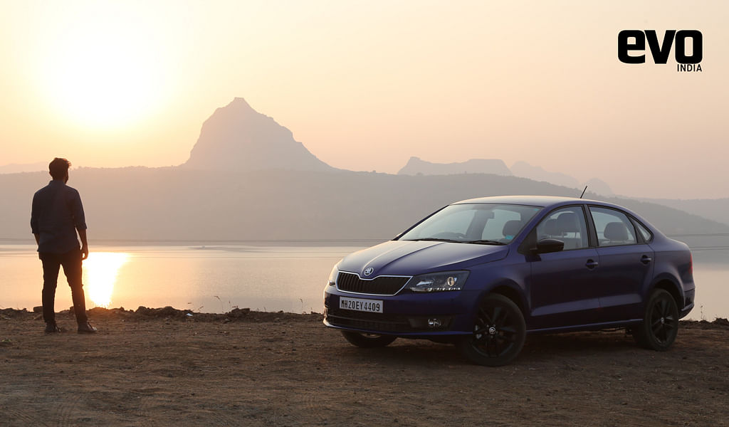 Skoda Service Experience: Pampering our Rapid Onyx Blue