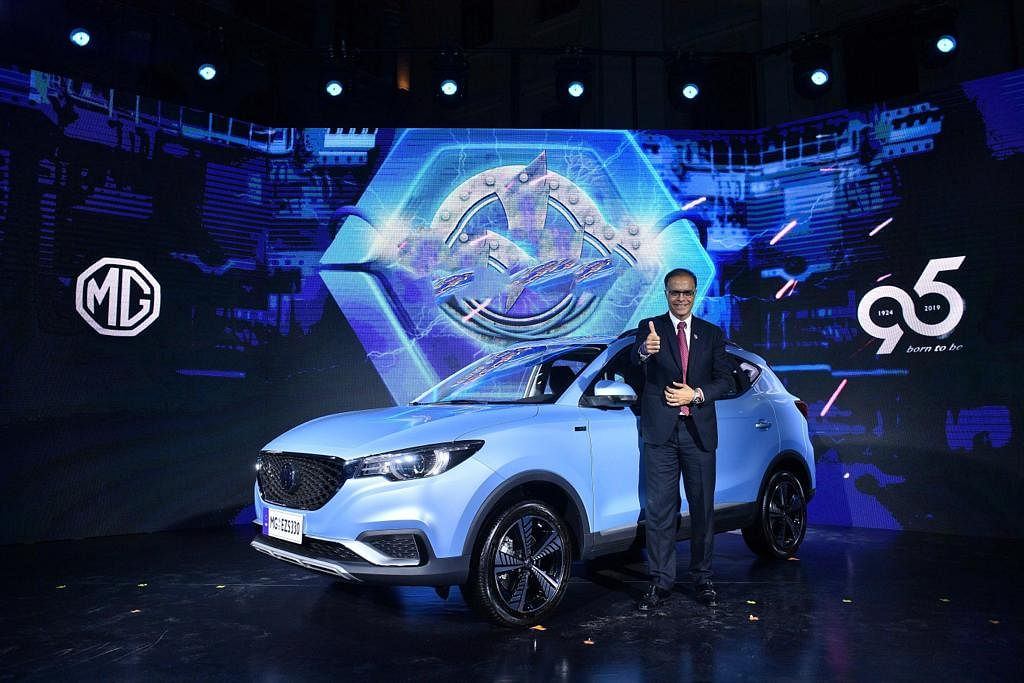 MG eZS pure electric SUV unveiled globally ahead of India launch