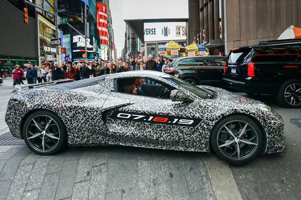 Mid-engined Chevrolet Corvette C8 set for July 18th reveal
