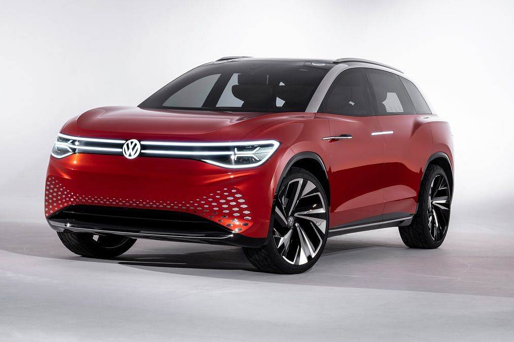 All-electric Volkswagen ID Roomzz concept revealed