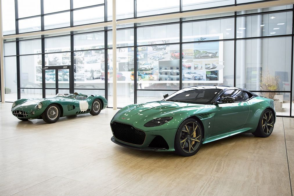 Aston Martin unveils the limited edition DBS 59