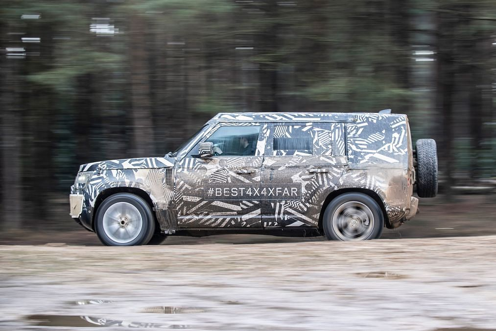 New Land Rover Defender undergoes final testing ahead of reveal