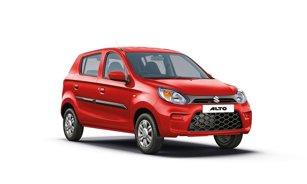 Maruti Suzuki Alto is India's bestselling car yet again