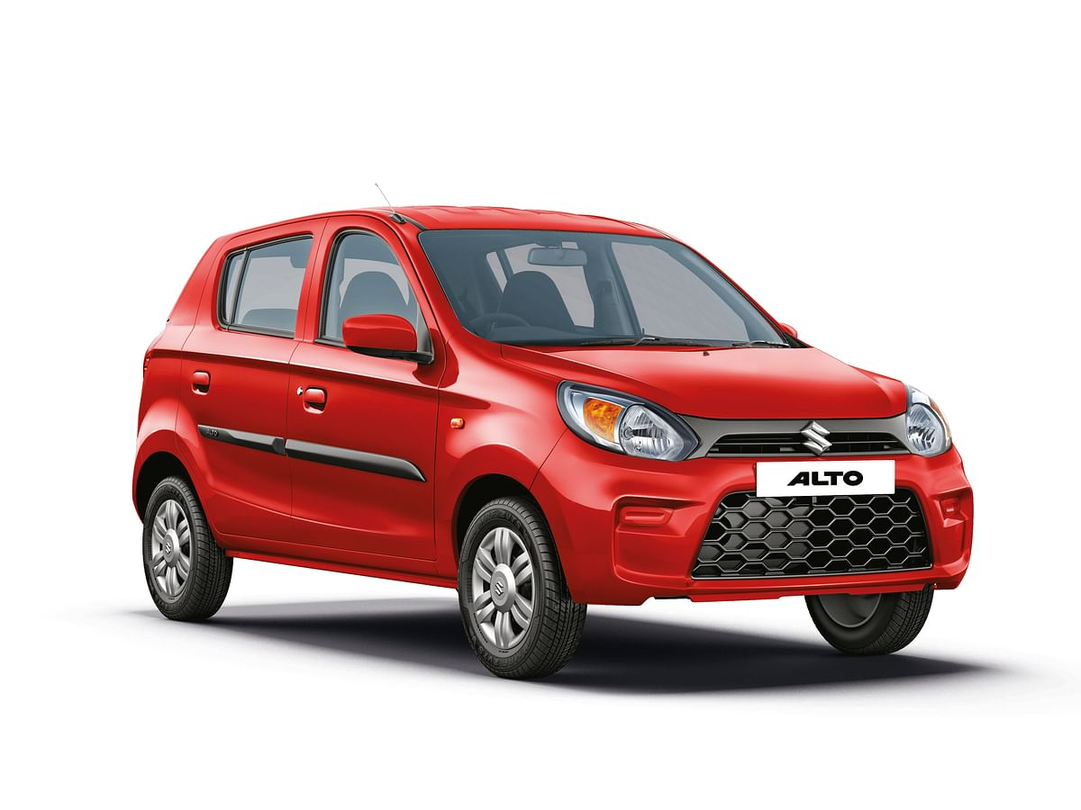 Maruti Suzuki Alto is India's bestselling car yet again