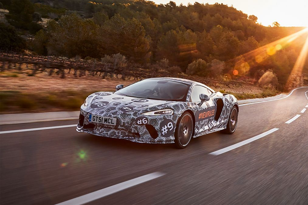 An all-new McLaren Grand Tourer is in the making