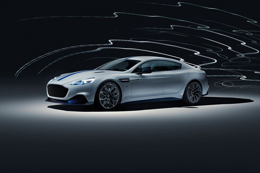 Aston Martin Rapide E revealed in production specification