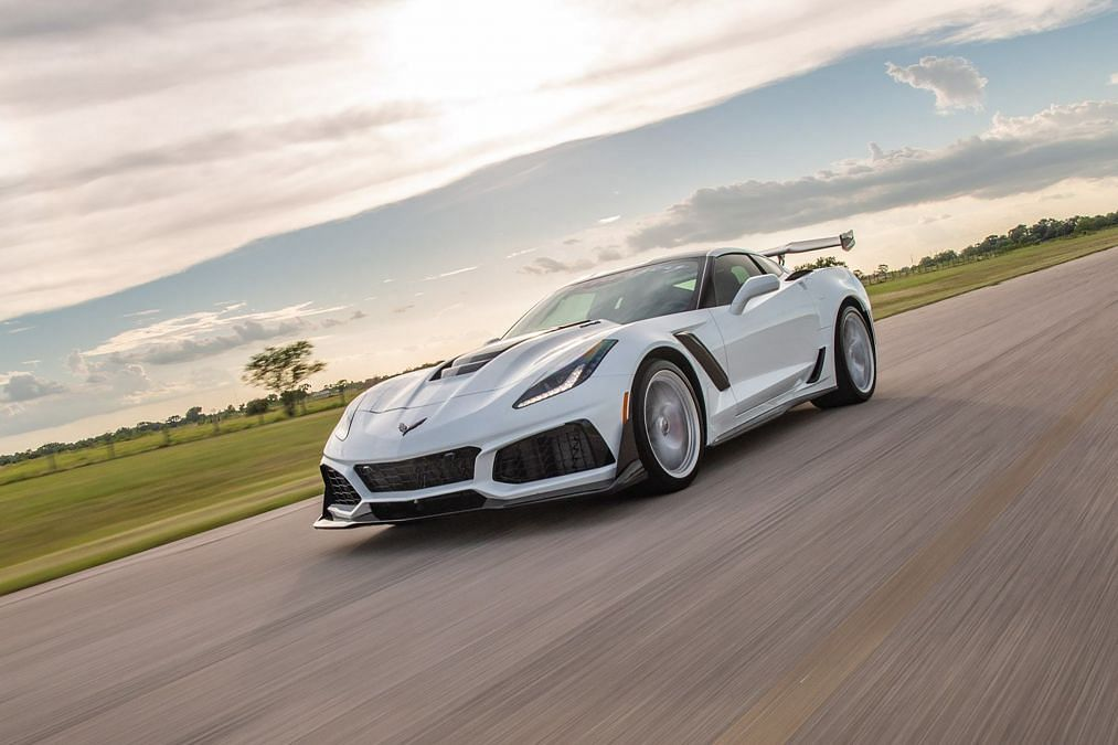 Chevrolet Corvette ZR1 gets 1200bhp from Hennessey Performance