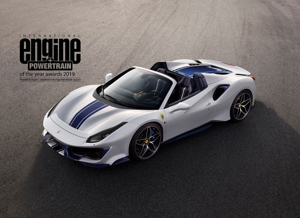 Ferrari sets record wins at the International Engine & Powertrain of the Year award