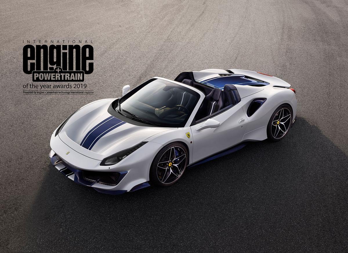 Ferrari sets record wins at the International Engine & Powertrain of the Year award