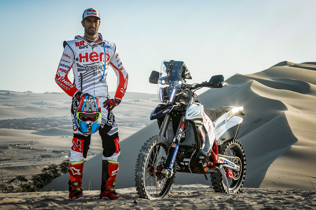 """I still want to be the top guy in the world"" says CS Santosh after Dakar 2019"