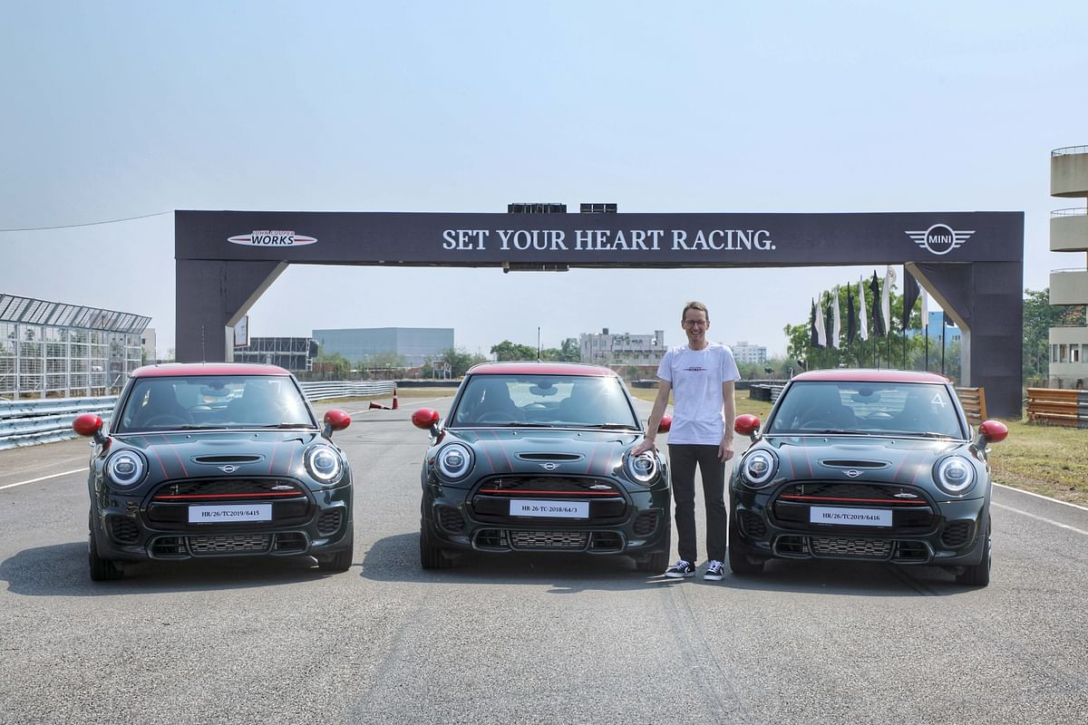 Mini John Cooper Works launched in India at Rs 43.50 lakh