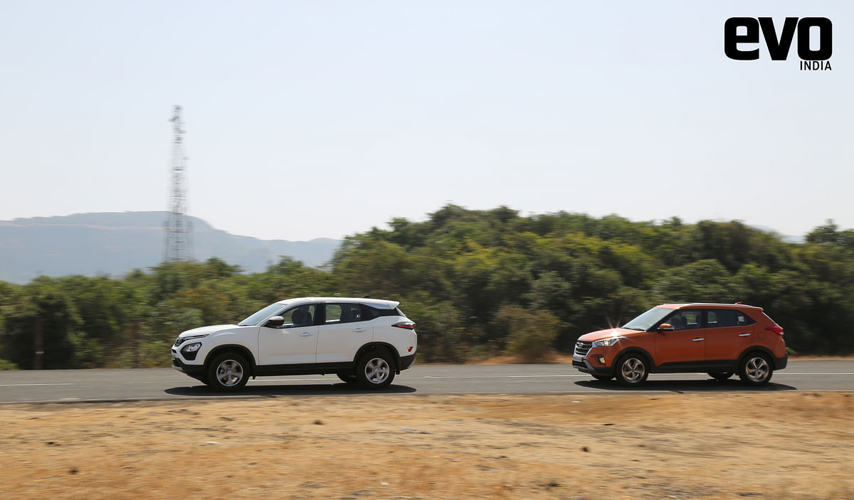 Mid-size SUV comparo: MG HECTOR vs Tata Harrier vs Hyundai Creta