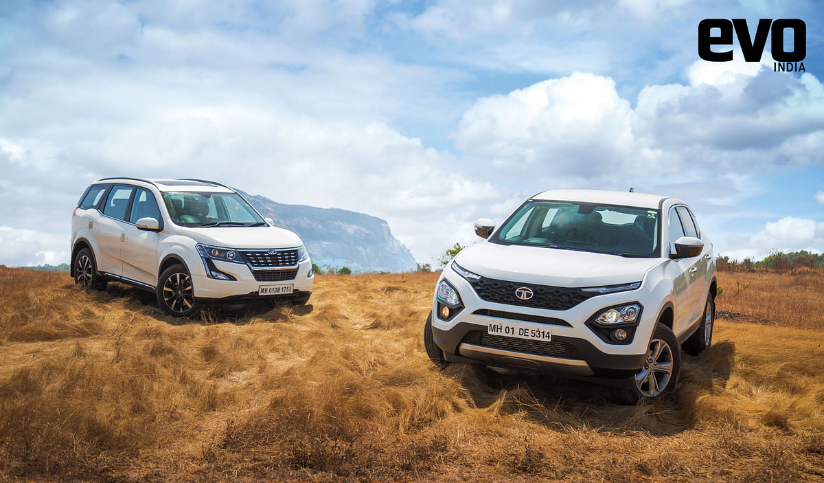 Tata Harrier vs Rivals: Taking on the Mahindra XUV500; Part 2