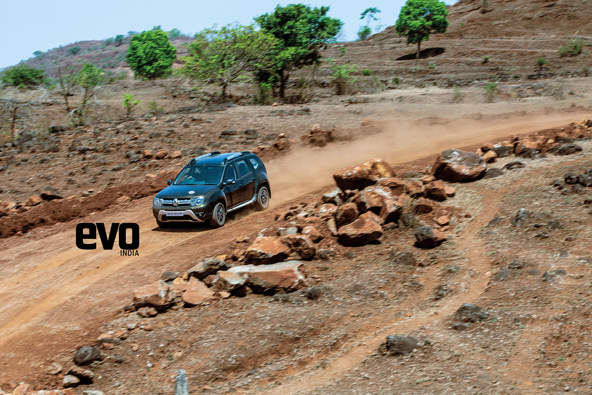 Getting high with Duster: Forts of Maharashtra