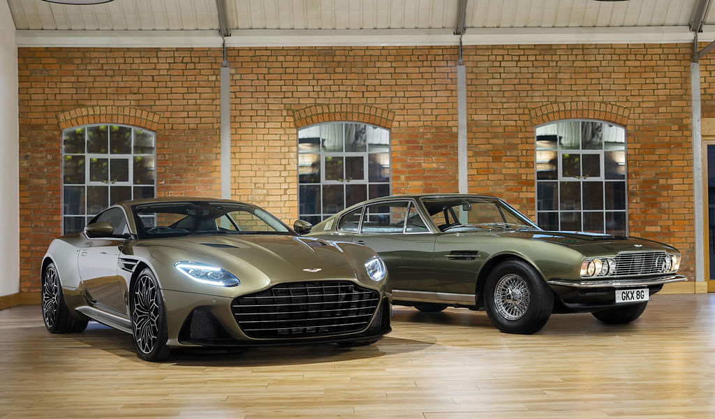 New Aston Martin Superleggera pays homage to its association with James Bond