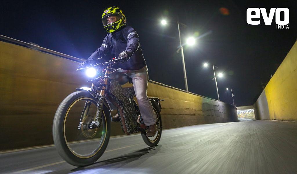 Polarity Smart Bikes' first e-bike spotted testing