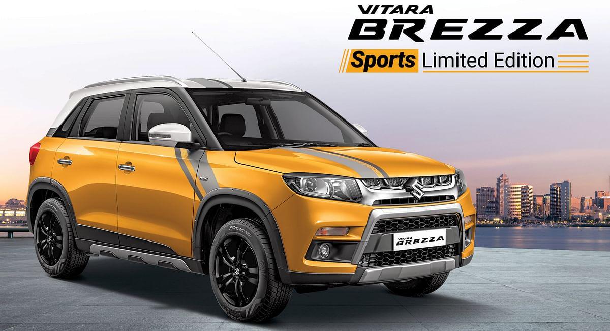 Maruti Suzuki unveils Sports Limited Edition trim for the Vitara Brezza