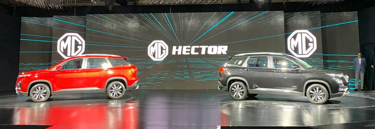 MG Hector officially revealed before June launch