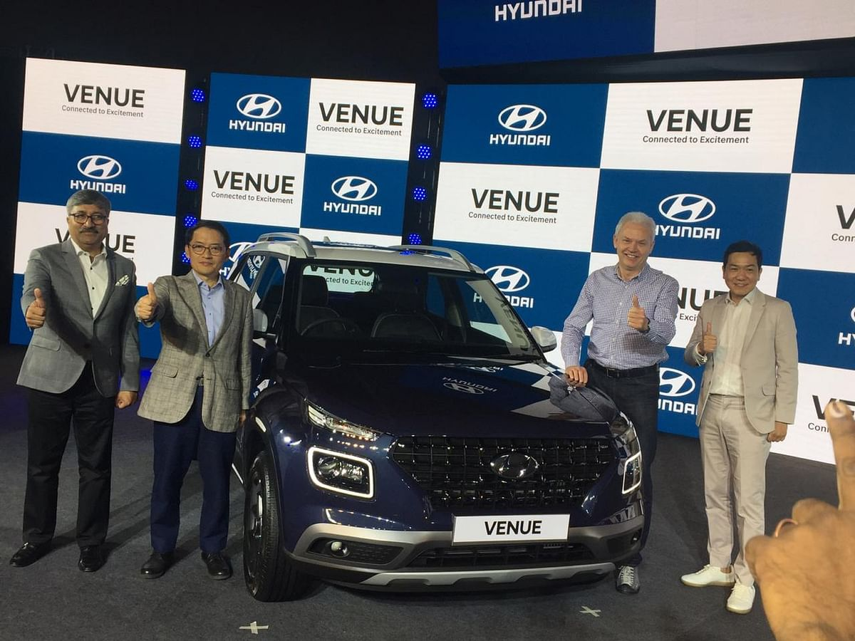 Hyundai India launches the much-awaited Venue starting from Rs 6.50 lakh