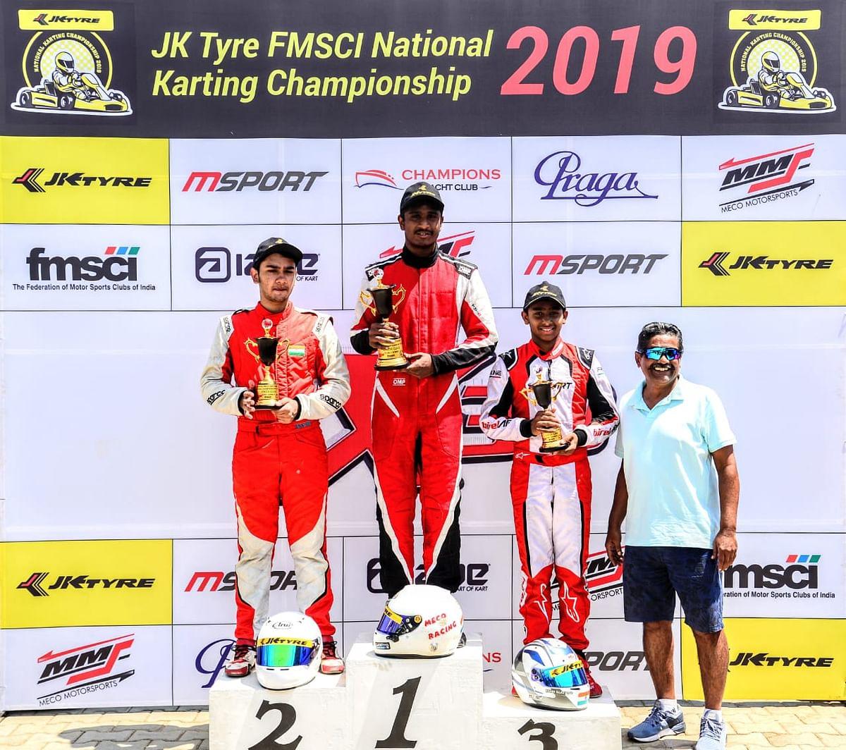 JK Tyre FMSCI National Karting Championship Round-1