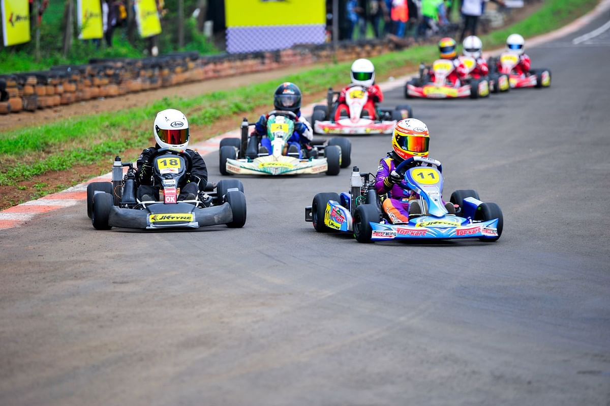 JK Tyre National Karting Championship has a new Avatar for 2019