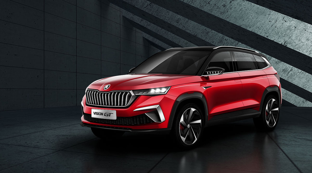 Skoda showcases the Vision GT at the Shenzen Motor Show 2019