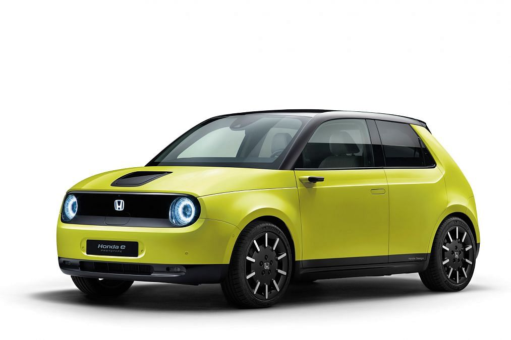 Honda reveals the powertrain for their 'Honda e' all-electric offering